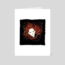 Flame - Art Card by Sarah Gordon