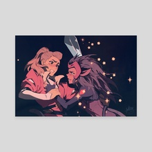 Catradora - Canvas by Keezy Young