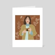 Say cheese - Art Card by shailja
