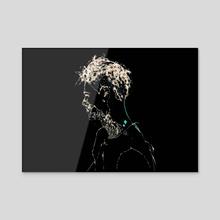 Sparks Right - Acrylic by phoenixleo