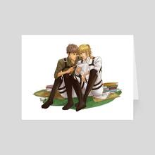 SNK: Jearmin - Art Card by Yuki119