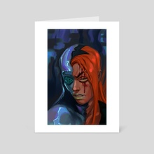 abbacchio 2 - Art Card by stel