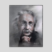 Albert - Acrylic by Tobias