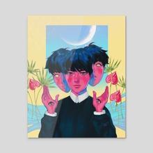 Elsewhere - Acrylic by lari