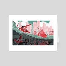 Battle - Art Card by Celine Chow