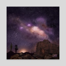 The Stars over Arizona - Canvas by Jörn Meyer