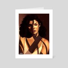 Shadows - Art Card by Tomcii Art