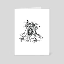 Swamp-Thing - Art Card by Luke Baker