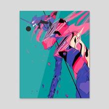 EVA 01 - Acrylic by Alterlier