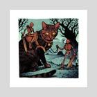 Pawer Rangers - Art Print by Mark Pinter