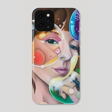 COLORFUL BUBBLES - Phone Case by Jelena Petkovic