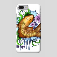 Koi Fish - Phone Case by adam santana