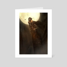 ETRATA, The Silencer - Art Card by Bastien Lecouffe Deharme