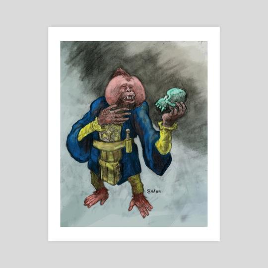Hamlet Orangutan by Cool Characters