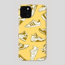 Sneakerhead - Phone Case by Sam Haidemenos