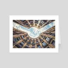 Barcelona street - Art Card by Manjik Pictures