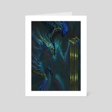 Golden - Art Card by Valentina Paz