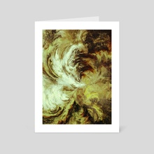 Down to Earth - Art Card by Andi GreyScale