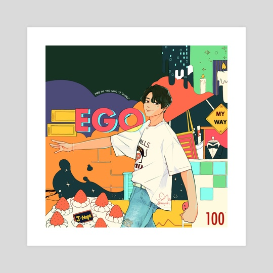 jhope ego by hiiyuki