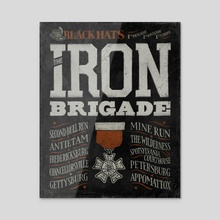 The Iron Brigade - Acrylic by The Union Archive