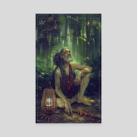 The Hermit by Aurore Folny