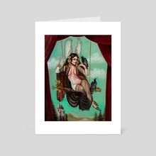 Brunhilde - Art Card by sara ray