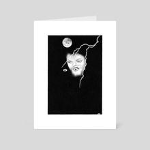 Popshot Magazine Issue 23 Illustration - Art Card by Renzo Razzetto