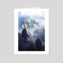 Mountain Castle  - Art Card by Johann BLAIS
