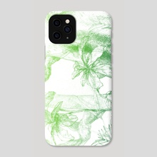 Amazonas (green version) - Phone Case by Miranda Pastor