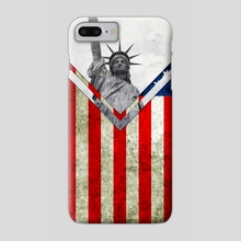 Flag - USA - Phone Case by Alexandre Ibáñez