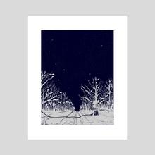 Link - Acrylic by Itoko Nakahara