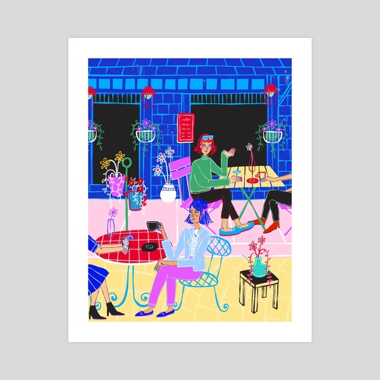 Cafe Vibes by Elyssa Padillo
