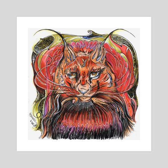 Lynx by Hannah Maria