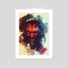 Dark Maul - Art Card by Benny Arte
