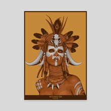 Witch Doctor - Canvas by Non Vale Art