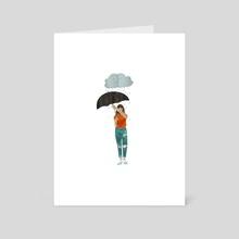umbrella - Art Card by Lara Paulussen