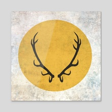 Game of Thrones - Baratheon House - Acrylic by Andres Sc