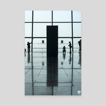 Airport Scenes. - Canvas by Parag Phadnis
