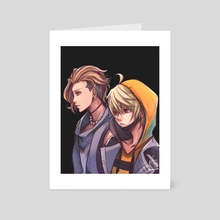 Neo Twewy- Rindo and Fret - Art Card by Sunny Ray