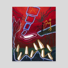 Upkeeper - Canvas by Zion Worthy