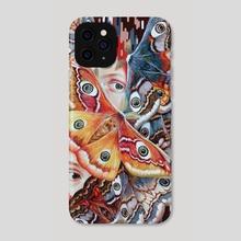Nine. - Phone Case by Eugenia Shchukina