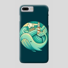 Into the Sea - Phone Case by Enkel Dika