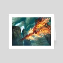 """Immortal Phoenix - Art Card by Mike """"Daarken"""" Lim"""