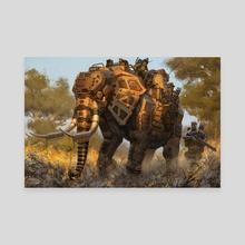 Big FIve Part 3 - Canvas by Robert Chew