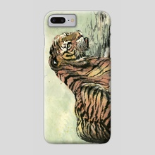 Tiger - 22 - Phone Case by River Han
