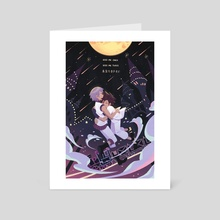 Light and Darkness - Art Card by Britney Liu