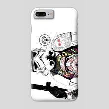 Tattooed Trooper - Phone Case by Ephrem Rokk