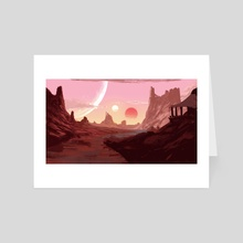 Desert Suns - Art Card by Filipe Pinto