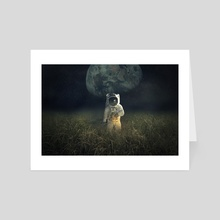 return the Moon - Art Card by Even Liu