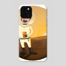 Mars Rover, Mars Rover - Phone Case by Edmund Lloyd